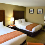 comfort inn beaverton queen room